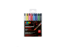 Set de 8 marqueurs Posca pointe calibrée trait extra-fin