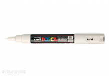 Marqueur Posca pointe conique trait extra-fin Blanc