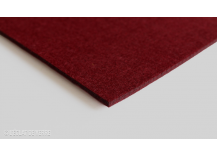 Feutrine en coupon de 30x40cm 4 mm Bordeaux