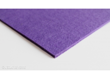 Feutrine en coupon de 30x40cm 4 mm Lilas