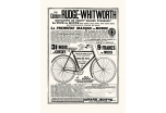 Affiche CYCLES RUDGE-WHITWORTH